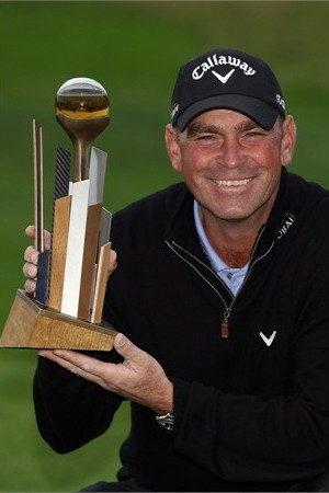 Thomas Bjorn wins Johnnie Walker Championship