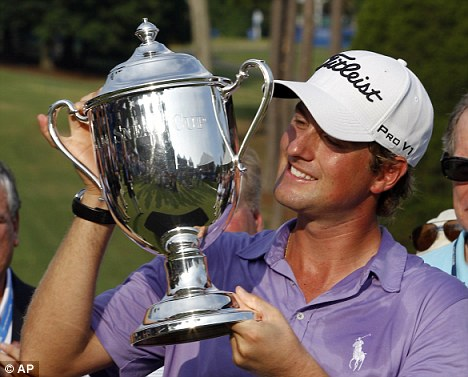 Wyndham Championship winner Webb Simpson