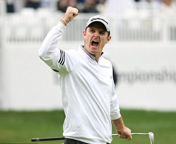 Justin Rose wins BMW Championship