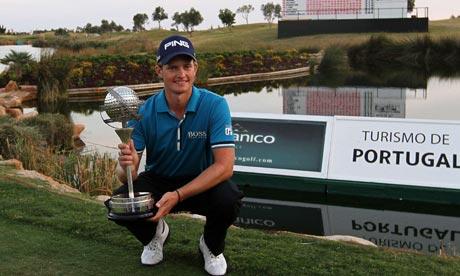Tom Lewis wins Portugal Masters