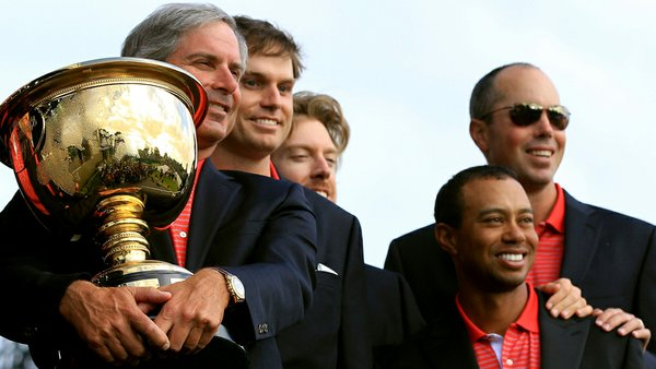 Fred Couples, Tiger Woods, U.S. Presidents Cup