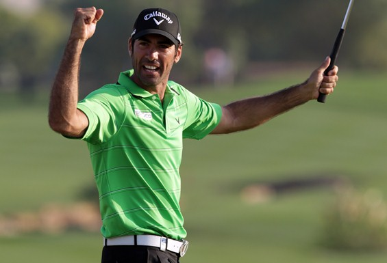 Alvaro Quiros wins Dubai World Championship